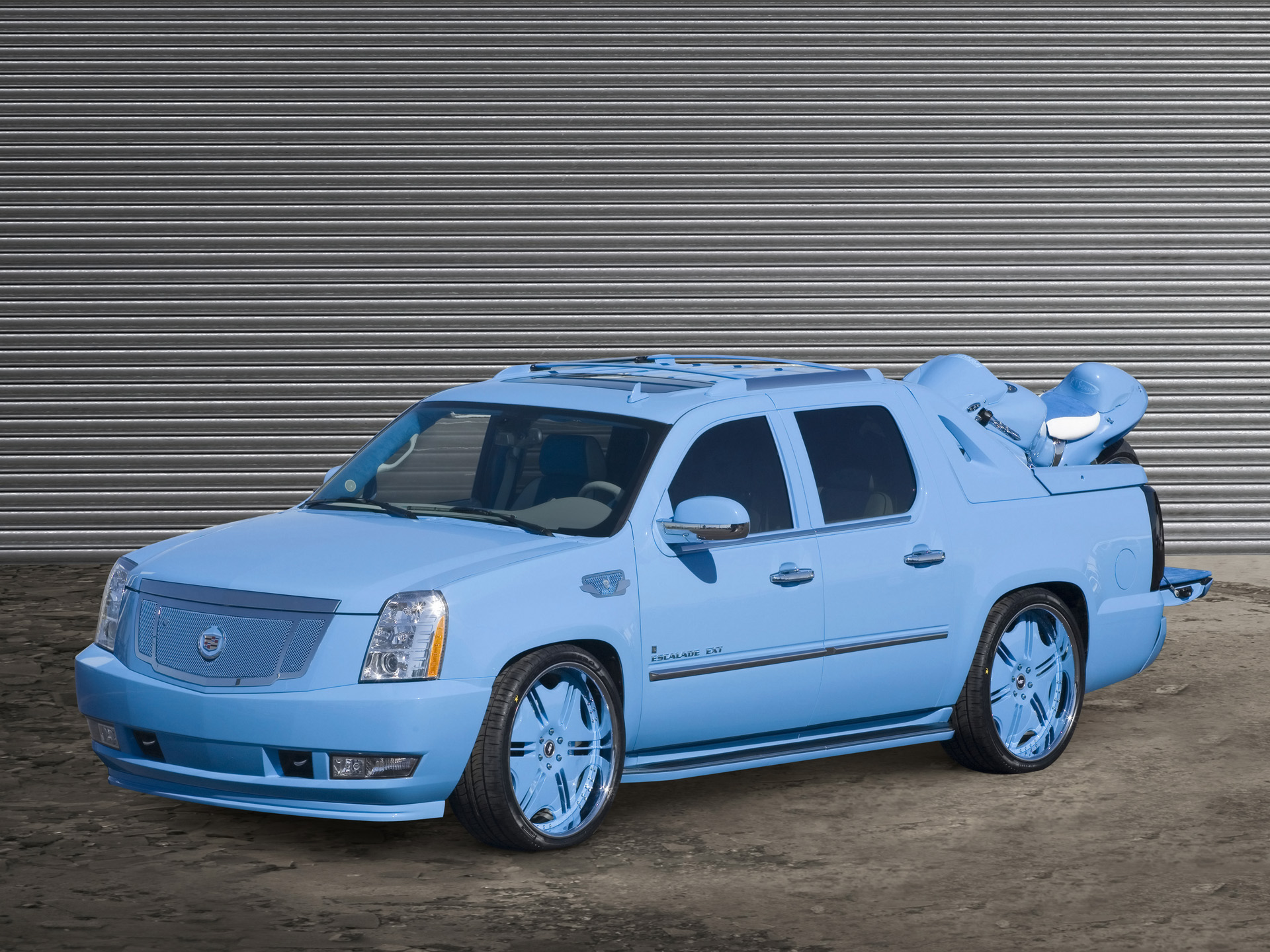 2006 Cadillac Escalade EXT DUB Magazine History, Pictures