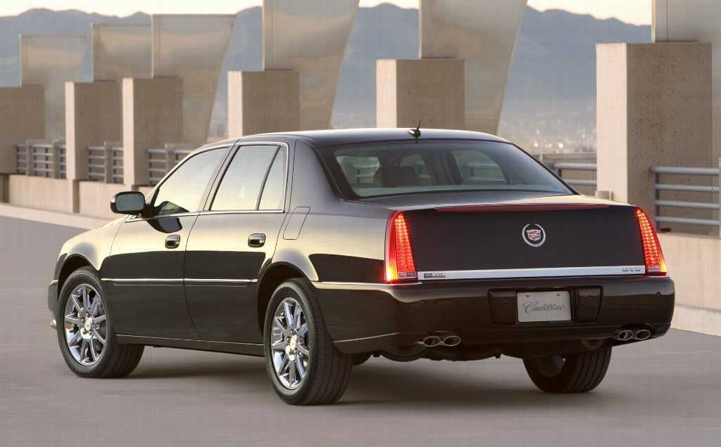 Auction Results and Sales Data for 2007 Cadillac DTS