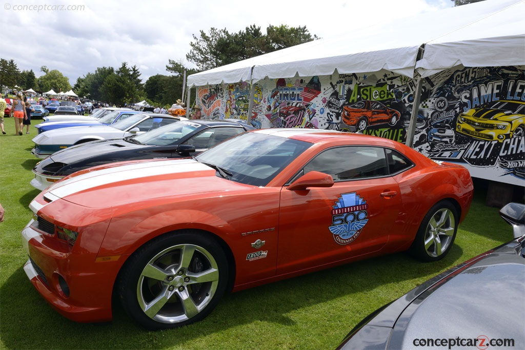auction results and sales data for 2010 chevrolet camaro ss indianapolis 500. Black Bedroom Furniture Sets. Home Design Ideas