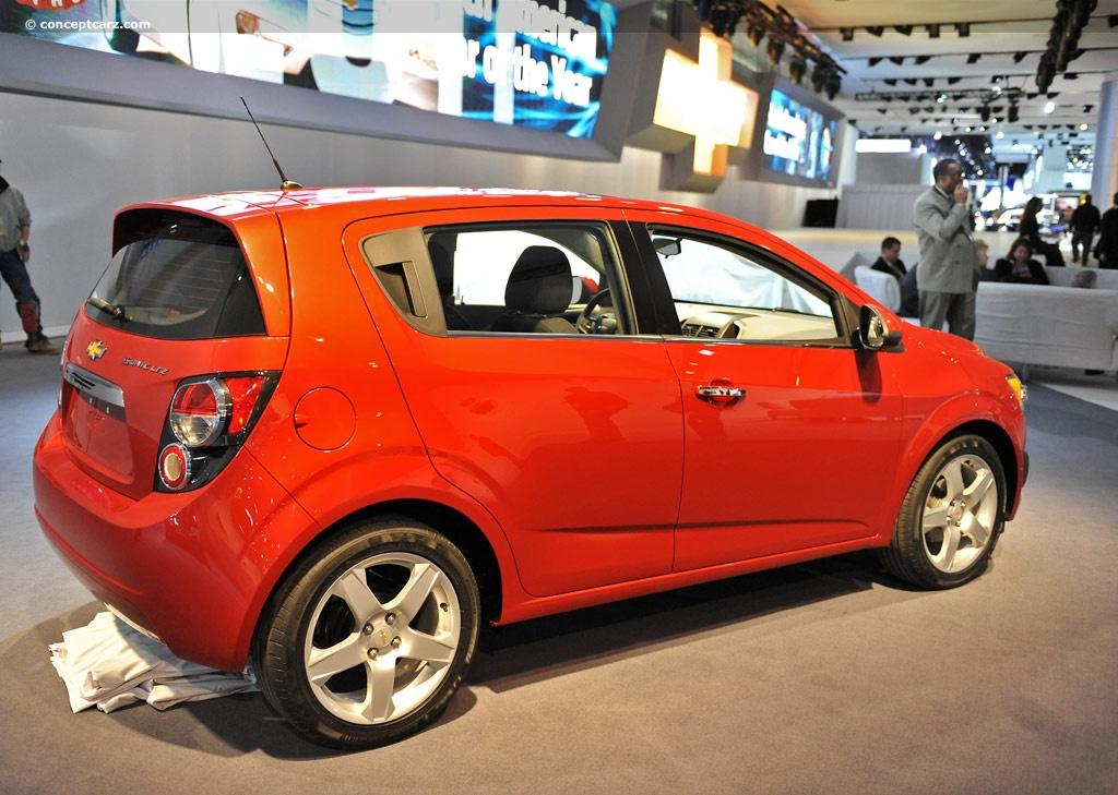 2018 Chevrolet Sonic Price >> 2012 Chevrolet Sonic Image. Photo 23 of 48