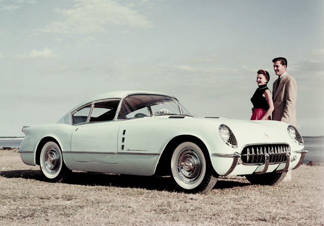 1954 Chevrolet Corvette Corvair Concept Pictures History Value Research News Conceptcarz Com