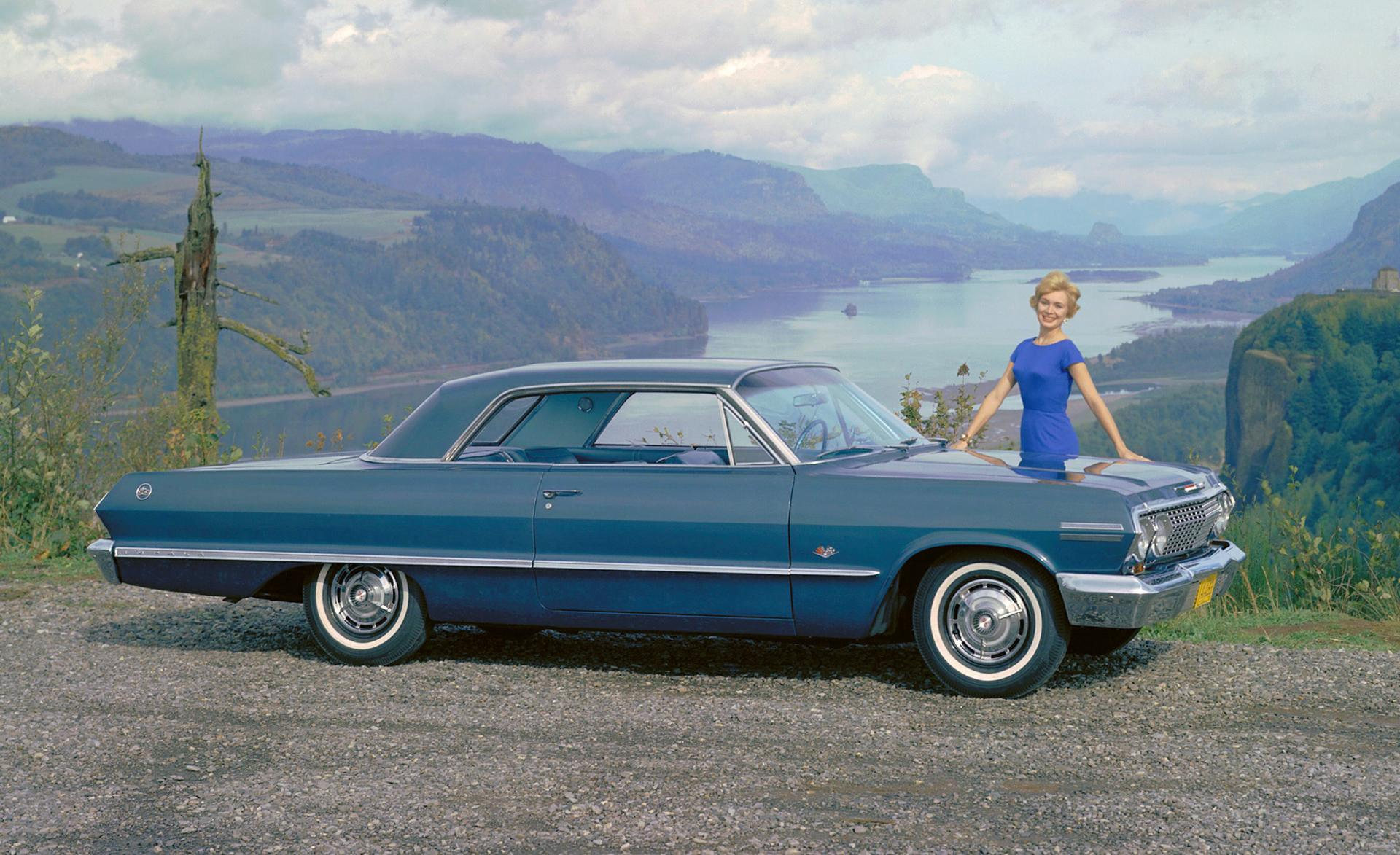 1963 Chevrolet Impala Series History Pictures Value Auction Sales 1966 Chevy Caprice Wagon Research And News