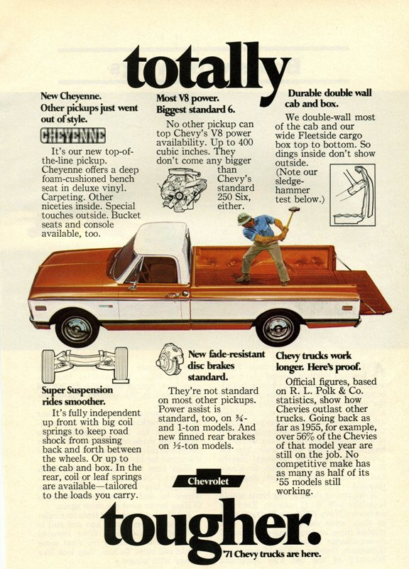1971 chevrolet c10 image photo 7 of 10 for Ford motor company phone directory