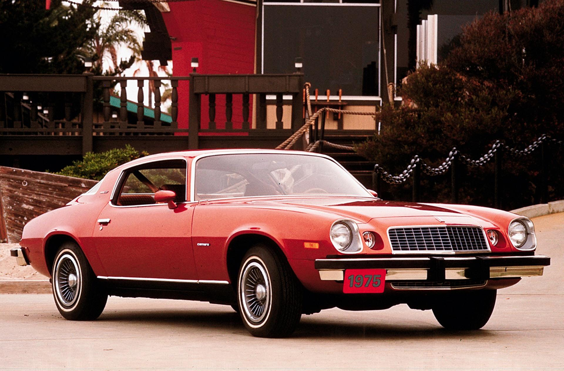 1975 Chevrolet Camaro Pictures History Value Research