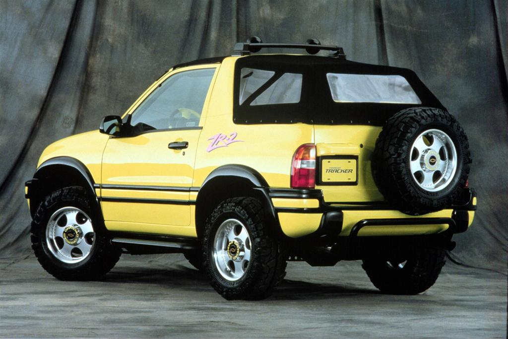 1999 Chevrolet Tracker Image. Photo 6 of 21