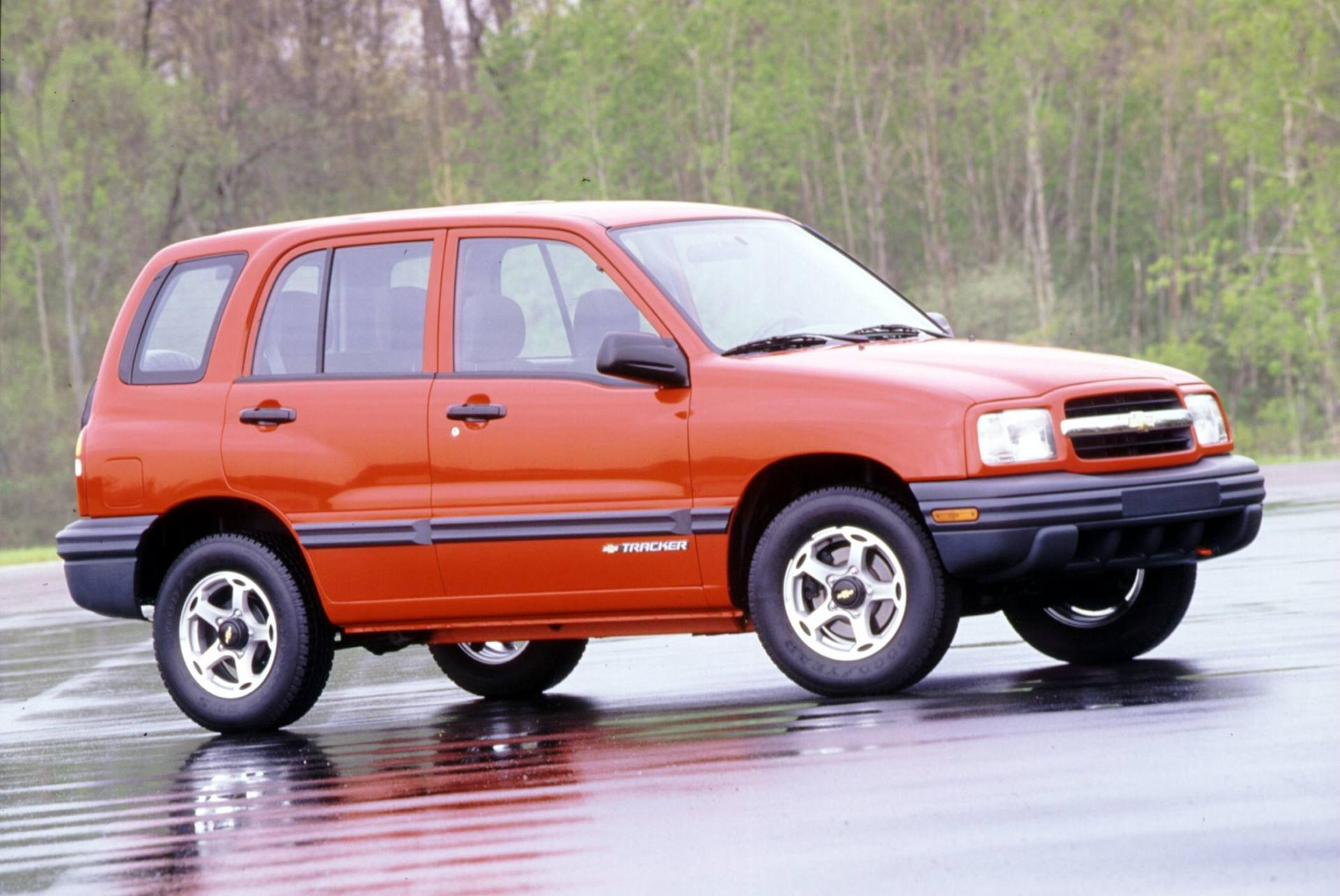 2000 Chevrolet Tracker Image. Photo 14 of 21