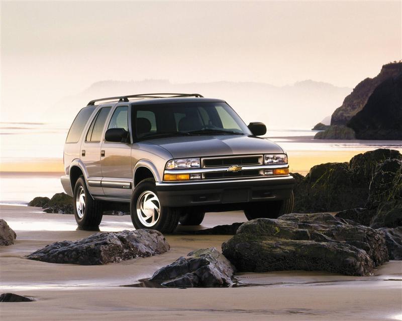 2001 Chevrolet Blazer History Pictures Value Auction Sales
