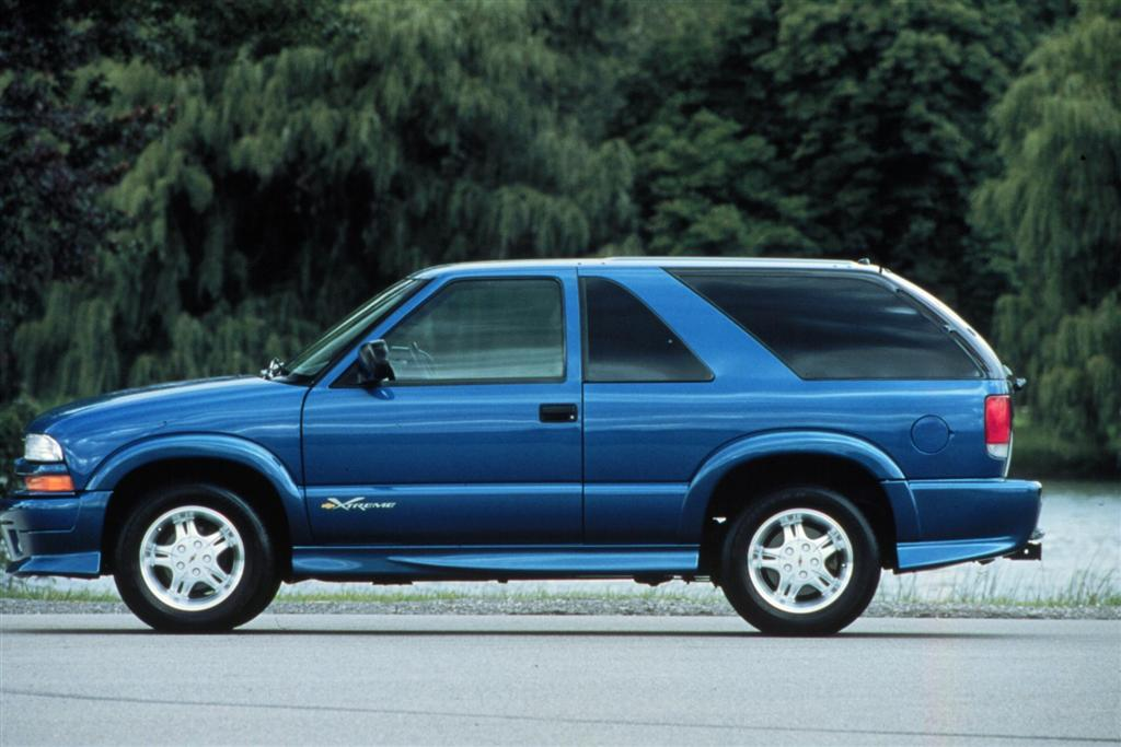Auction results and sales data for 2001 Chevrolet Blazer ...