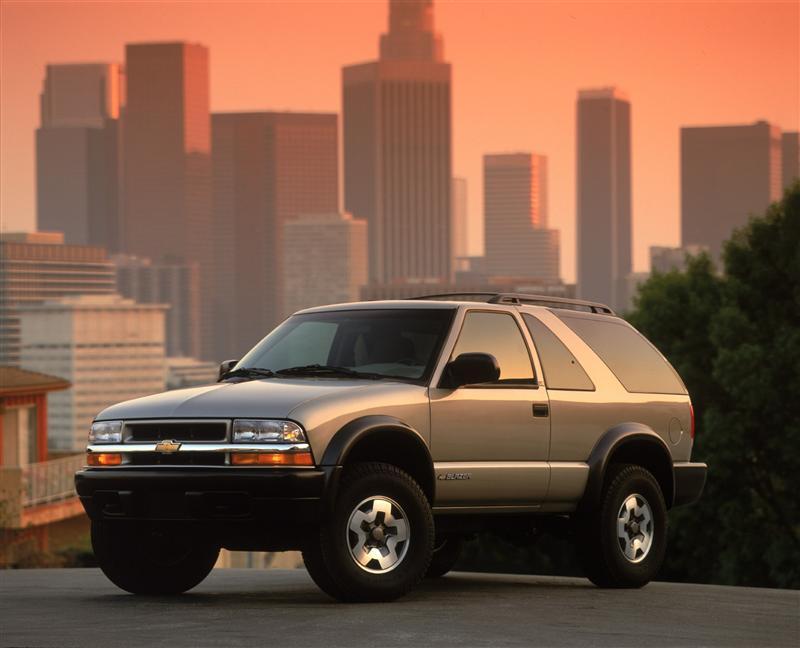 2002 Chevrolet Blazer History Pictures Value Auction Sales
