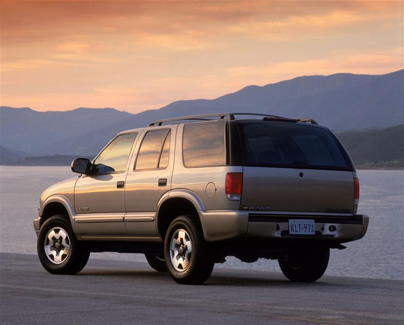 2002 Chevrolet Blazer Conceptcarz Com