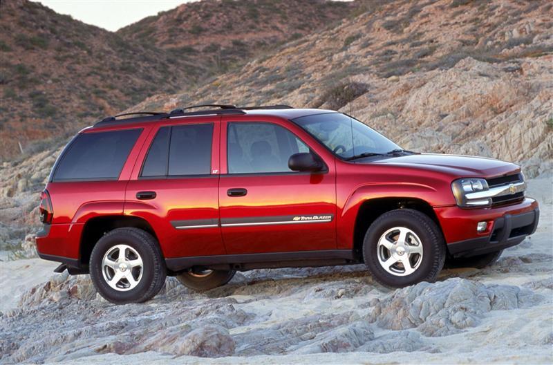 2002 Chevrolet Trailblazer Image Photo 8 Of 16