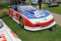 2002 Chevrolet Corvette.  Chassis number J001