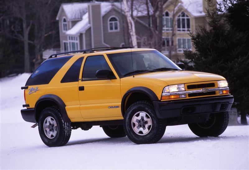 2004 Chevrolet Blazer History Pictures Value Auction Sales