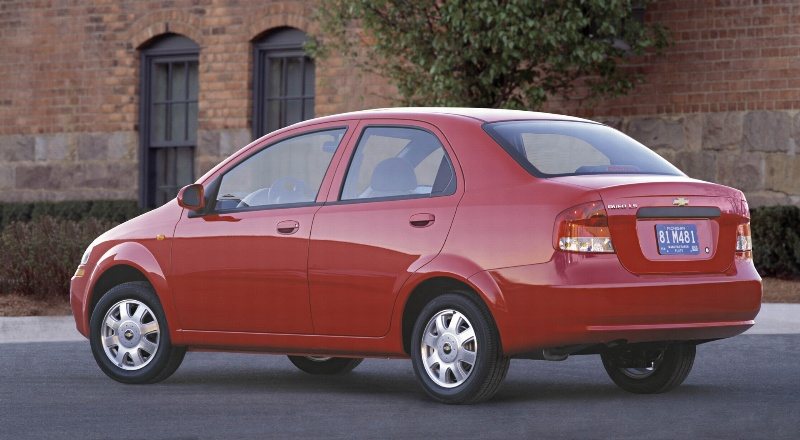2004 Chevrolet Aveo History Pictures Value Auction Sales