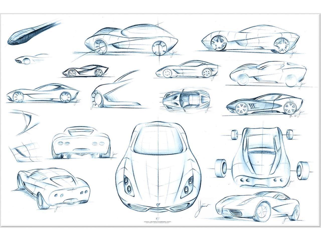 2009 Ugur Sahin Corvette Z03 Concept