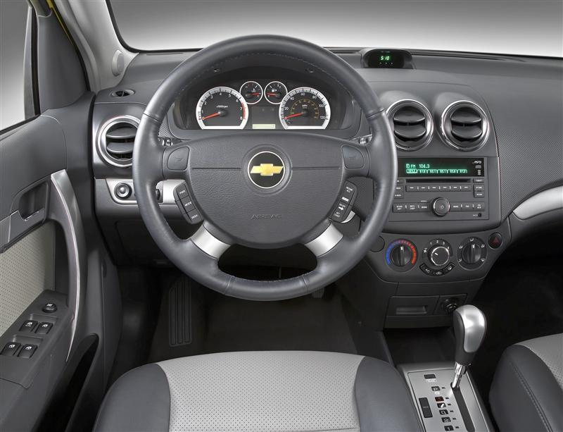 Chevy Aveo Interior Image