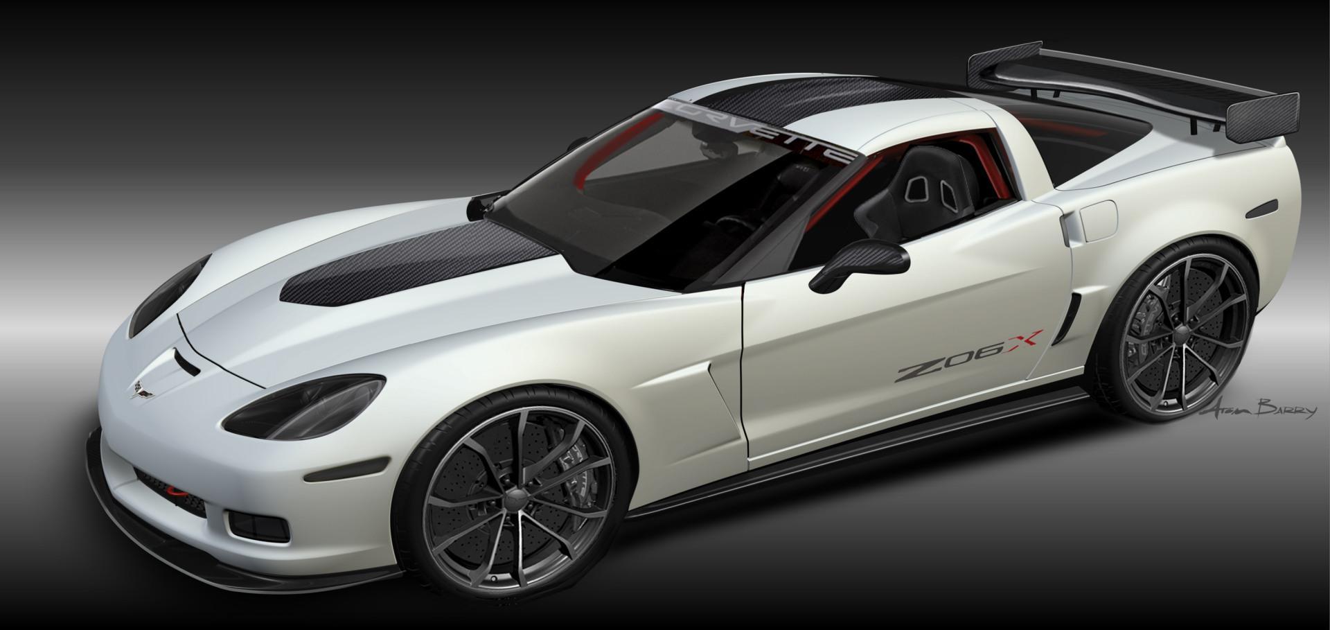 All Chevy chevy concepts : 2011 Chevrolet Corvette Z06X Track Car Concept - conceptcarz.com