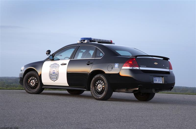 2011 Chevrolet Impala Police Package Images