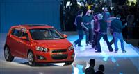 Chevrolet Sonic Monthly Vehicle Sales