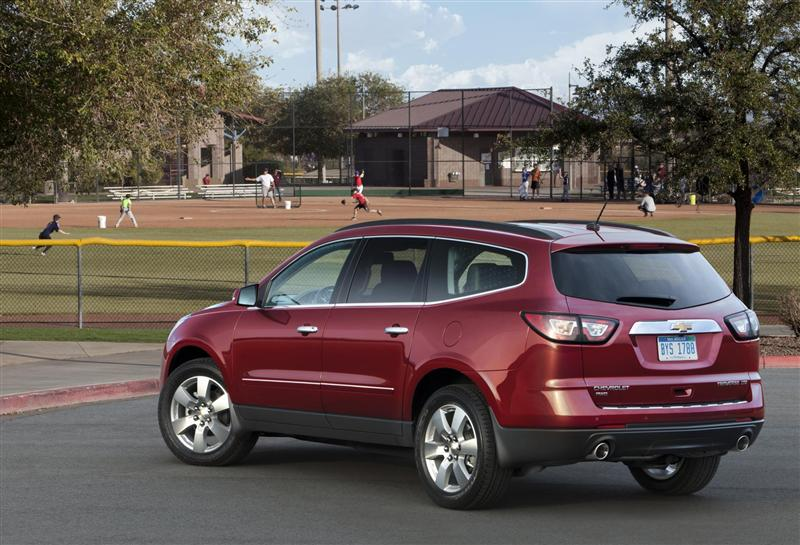 2013 Chevrolet Traverse Image Photo 15 Of 19