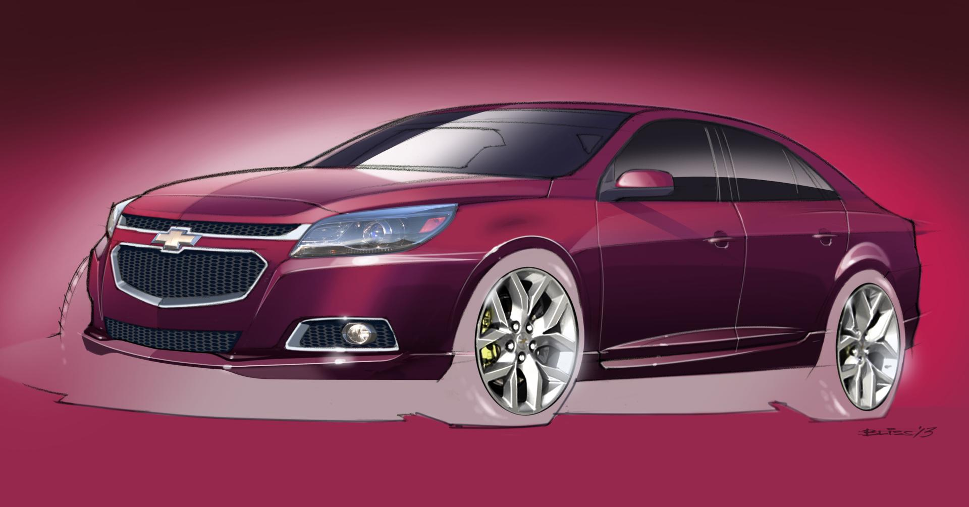 2013 Chevy Malibu Lt >> 2014 Chevrolet Malibu LTZ Concept News and Information