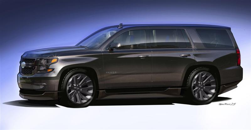 2013 Chevrolet Tahoe Black Concept