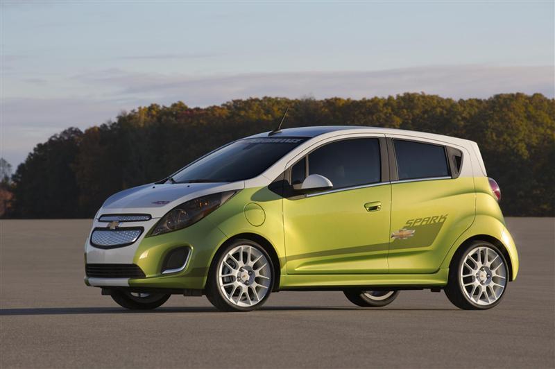 Good 2014 Chevrolet Spark EV Tech Performance Concept
