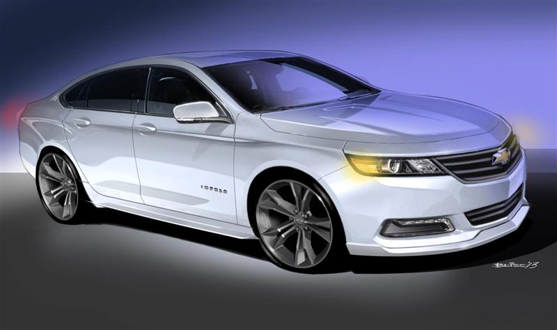 2014 Chevrolet Urban Cool Impala concept pictures and wallpaper
