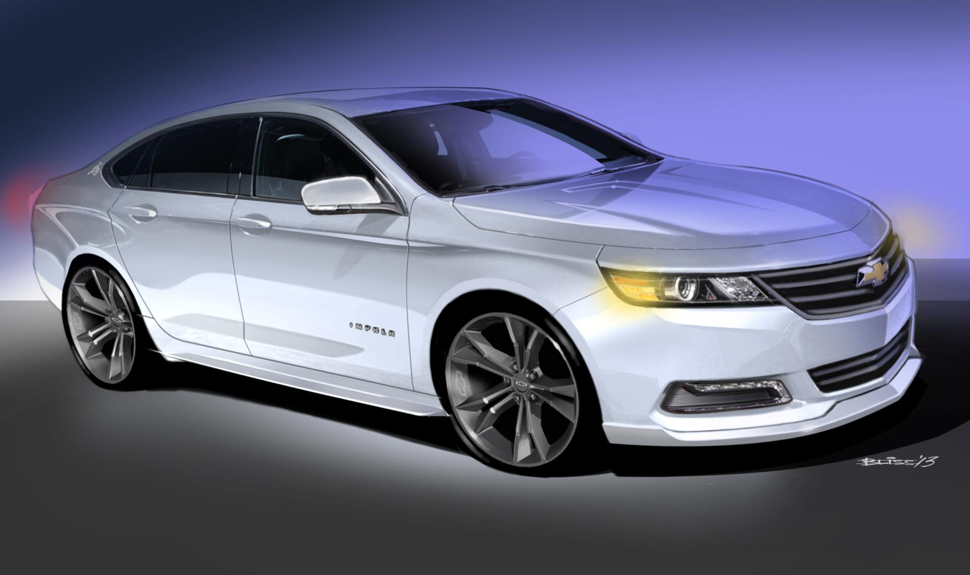 2014 Chevrolet Urban Cool Impala Concept News And