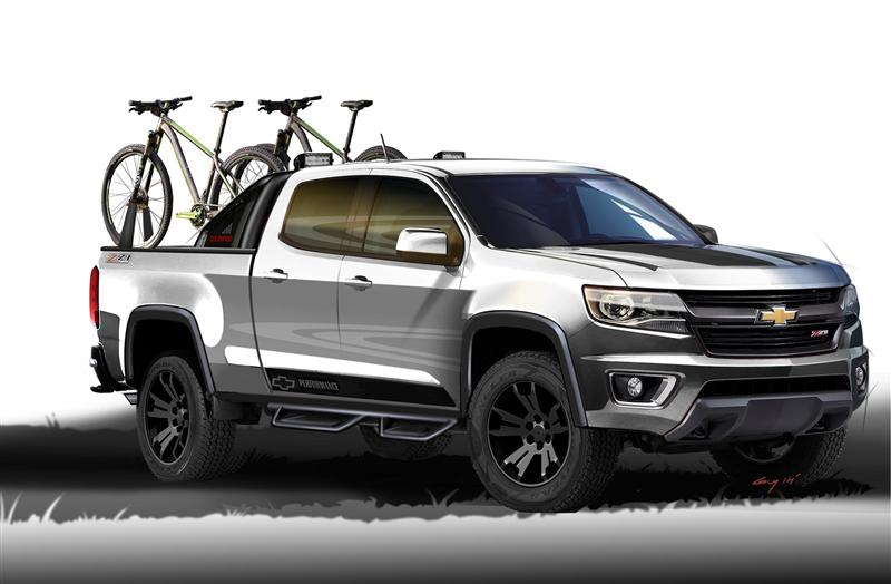 2015 Chevrolet Colorado Sport Concept
