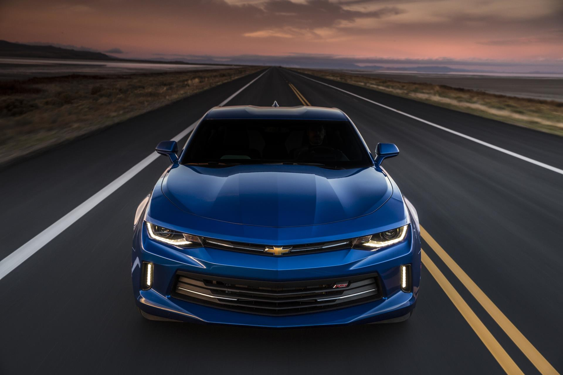 Chevrolet Camaro Синий загрузить