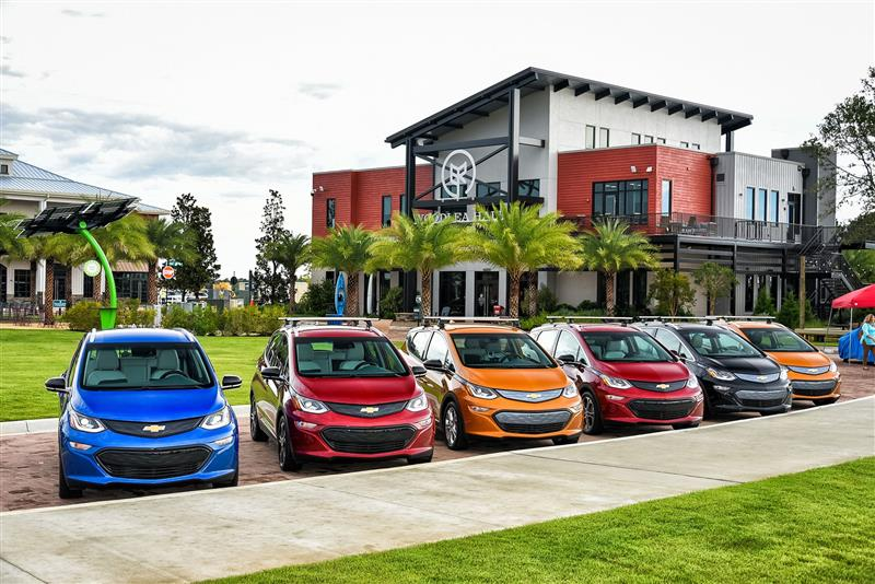 Chevrolet Bolt EV pictures and wallpaper