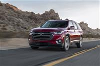 2018 Chevrolet Traverse RS image.