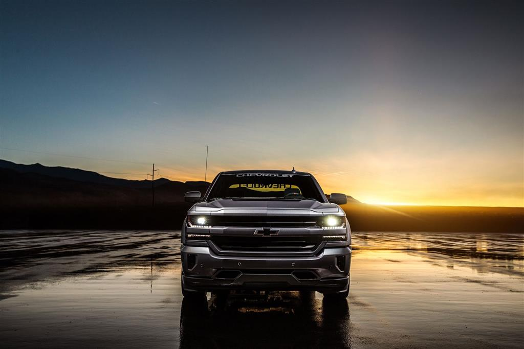 2018 Chevy Silverado >> 2017 Chevrolet Silverado Performance SEMA Concept Image. Photo 4 of 5