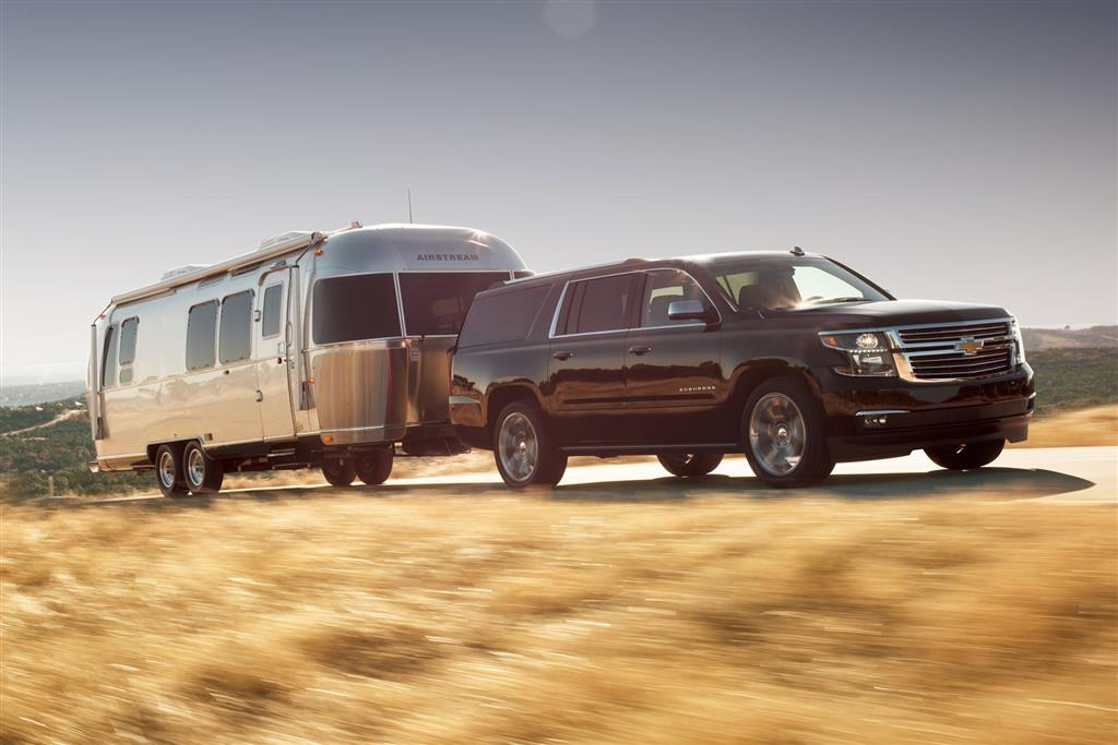 Monthly sales data for the chevrolet suburban for Kb motors reading pa