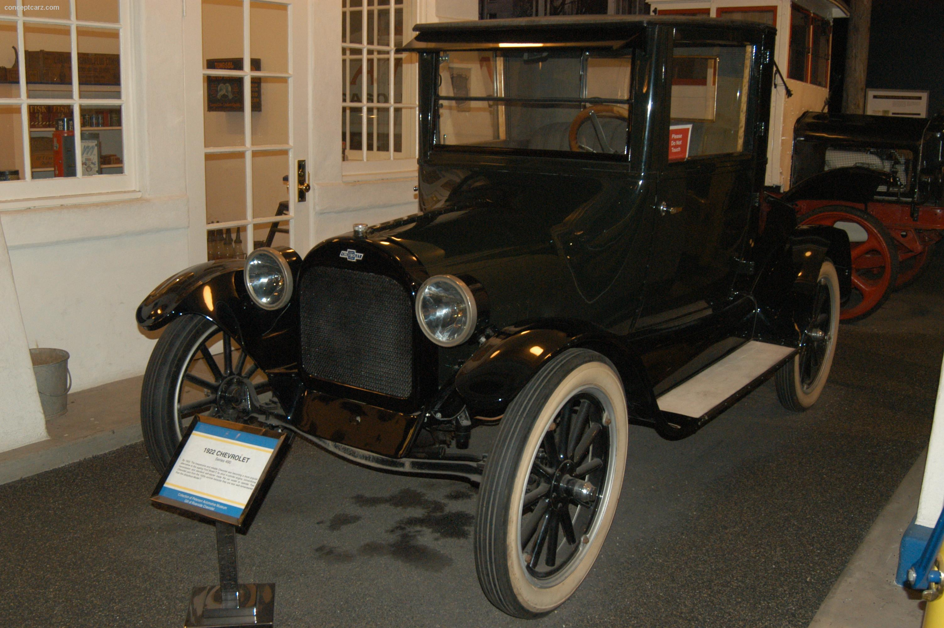 1922 chevrolet series 490
