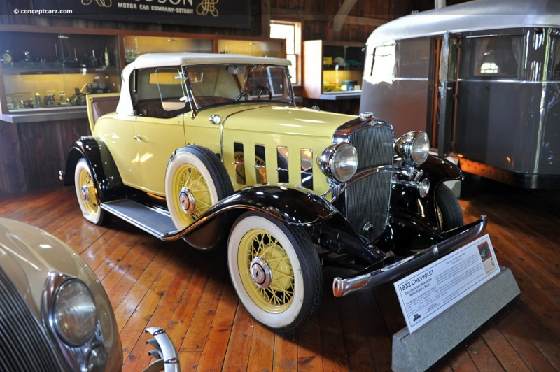 1932 Chevrolet Confederate Series BA chassis information