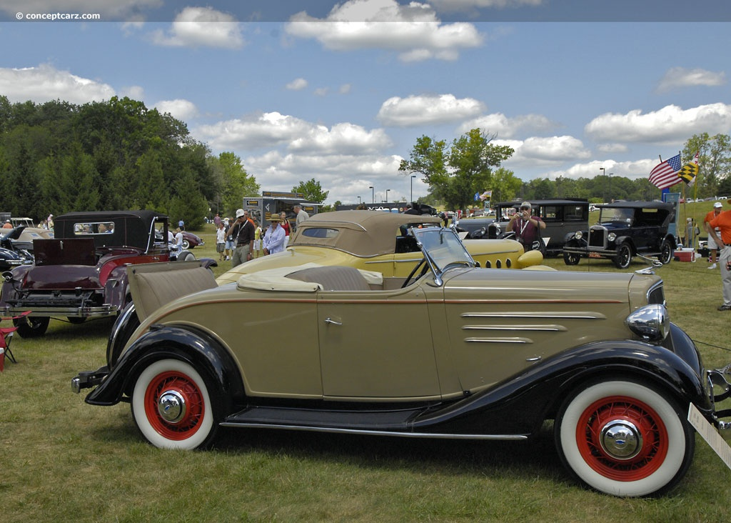 Auction Results and Sales Data for 1934 Chevrolet Master DA