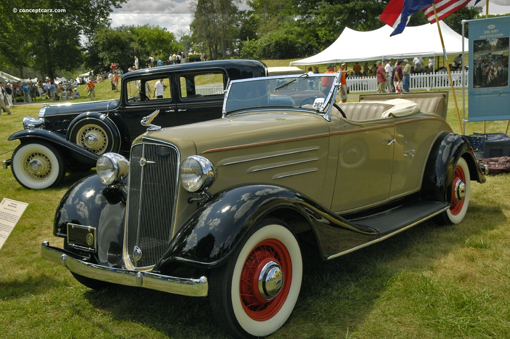 1934 Chevrolet Master DA Image