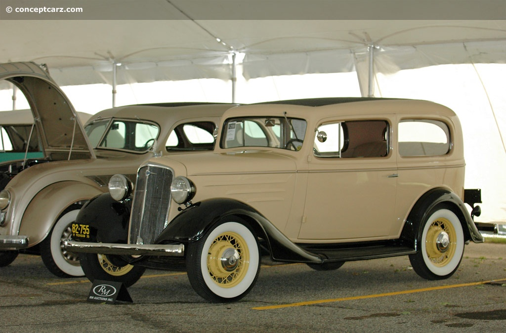 1935 Chevrolet Series EC technical and mechanical specifications
