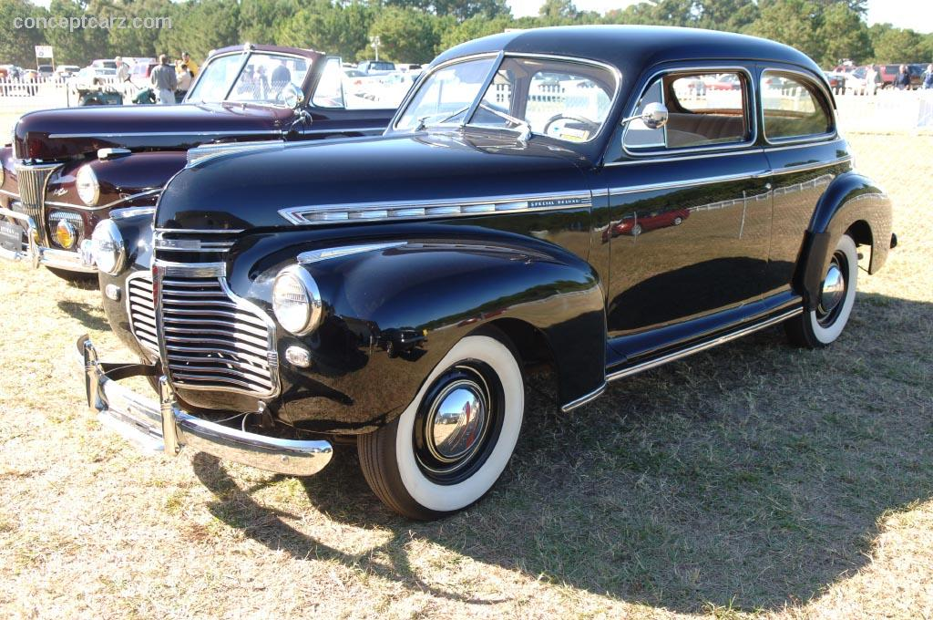 Auction Results and Sales Data for 1941 Chevrolet Special Deluxe