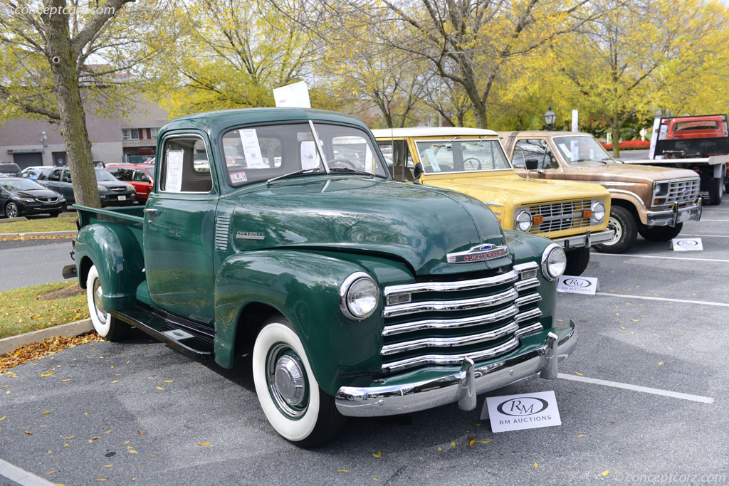 Green Country Auto Sales >> 1947 Chevrolet Series 3100 History, Pictures, Sales Value ...