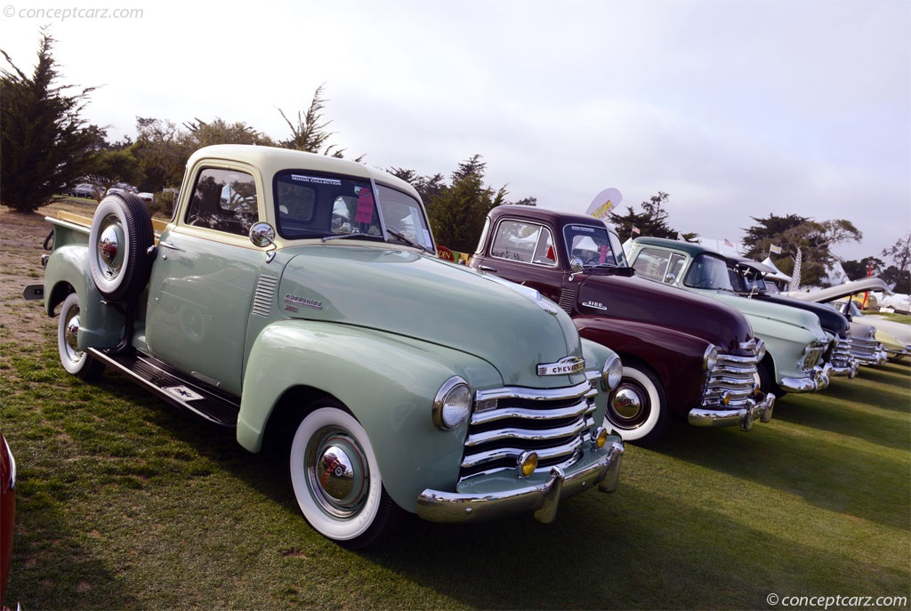 1950 Chevrolet 3100 Pickup Image Chassis Number 5HSE2446