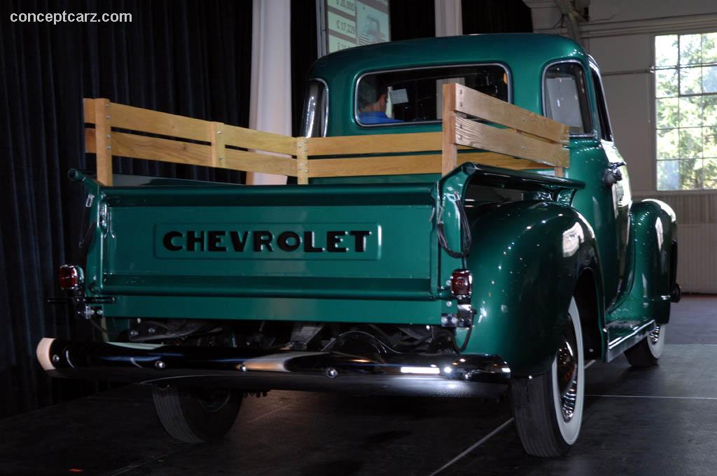 1950 Chevrolet 3100 Pickup Image Chassis Number 6hpb4278