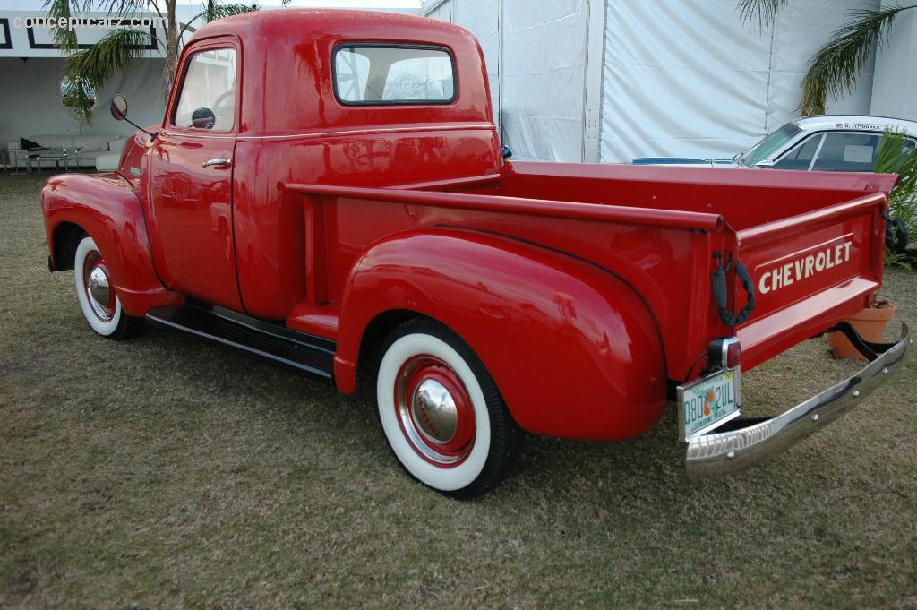 1950 Chevrolet 3100 Pickup Image. Photo 33 of 33