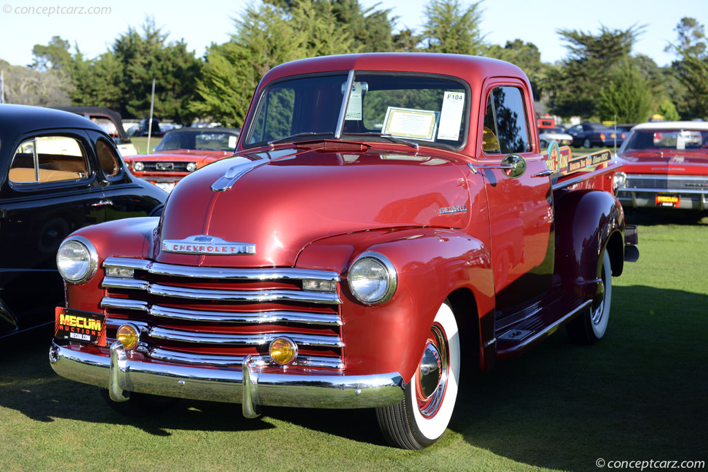 1952 Chevrolet Model KP Series 3100
