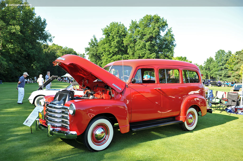 1952 Chevrolet Suburban | conceptcarz.com