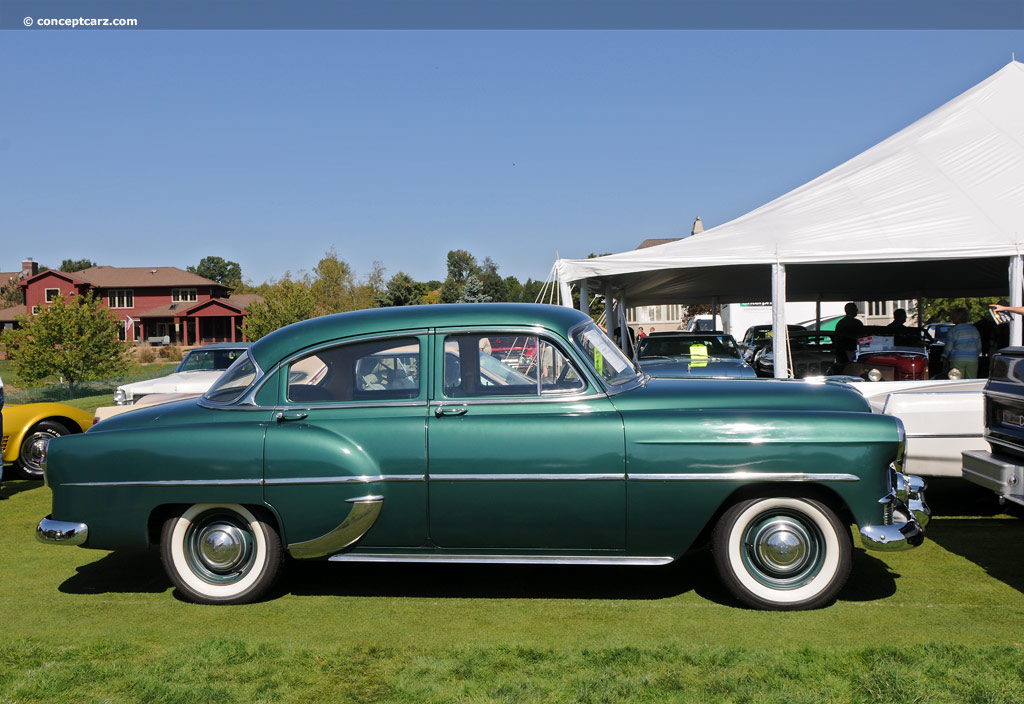 Auction results and data for 1953 Chevrolet DeLuxe 210 ...