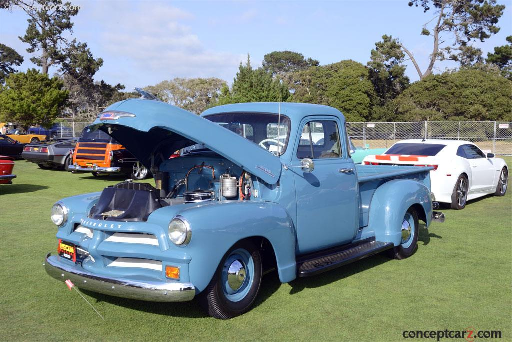 Auction Results And Sales Data For 1954 Chevrolet Series 3100