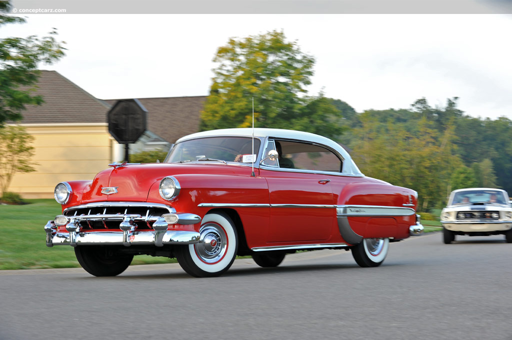 Bel Air Auto Auction >> 1954 Chevrolet Bel Air History, Pictures, Value, Auction Sales, Research and News